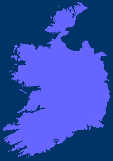 Karte Irland