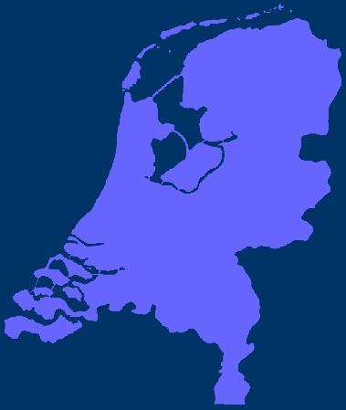 Karte Niederlande